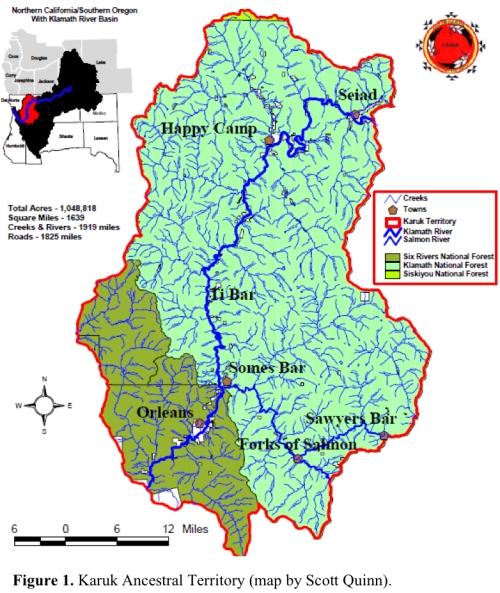 Karuk Ancestral Territory